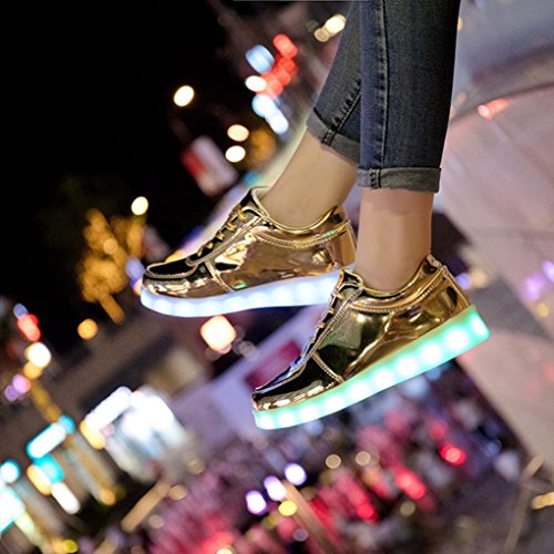 unisexe LED led basket usb lumineux OHQ responsable dentelle souliers sport ARv8qand