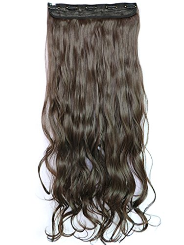 28 inch curly extension clip in - 2