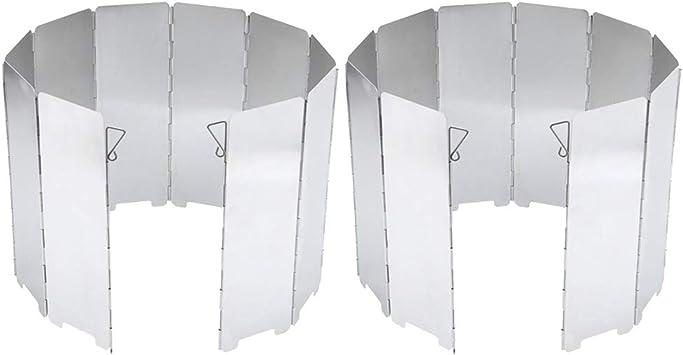 Injoyo 20pcs Placa De Aluminio Estufa De Gas Pantalla De ...