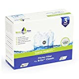 Brita Classic Replacement Cartridge Water Pitcher Filter WLF-BKF01 (Pack of 3)