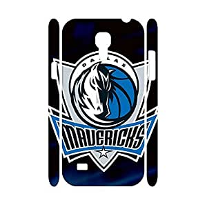 Comfortable Basketball Team Logo Print Phone Shell Skin for Samsung Galaxy S4 Mini I9195 Case