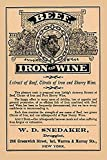 An extract of beef citrate of iron and sherry