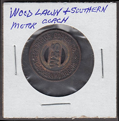 Woodlawn & Southern Motor Coach transit token Aliquipa for sale  Delivered anywhere in USA