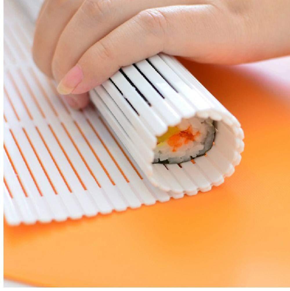 1pc Sushi Rouleau Portable Cuisine DIY Sushi Rouleau Maker Sushi Nori Algue Rideau Tool Moule Pas moisie de la sant/é