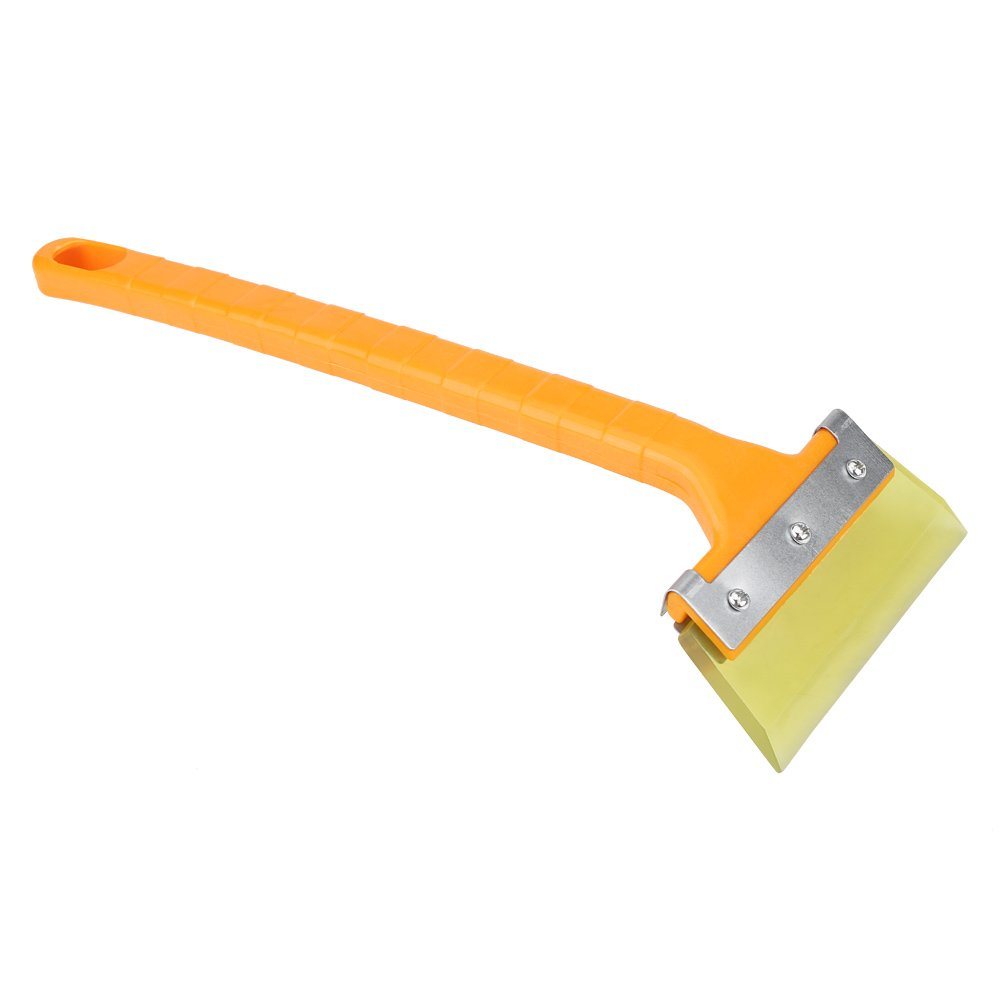 Keenso Snow Shovel Ice Scraper Removal Snow Brush for Car Windscreen Removal Cleaning Tool Remove Snow brush Scraper Yellow