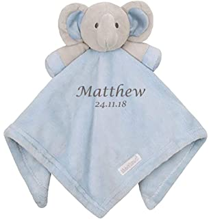4cc67914c4391 Personalised Embroidered Baby Girl Boy Dimple Luxury 3D Teddy Bear ...