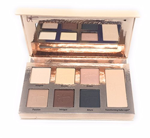 (It Cosmetics Naturally Pretty Essentials Matte Luxe Transforming Eyeshadow Palette )