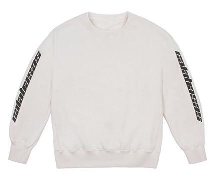 0da24449 Identity Yeezy Calabasas Sweatshirt i Feel Like Pablo Kanye west:  Amazon.co.uk: Clothing