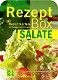Die Rezeptbox. Salate. 50 Rezeptkarten mit farbige