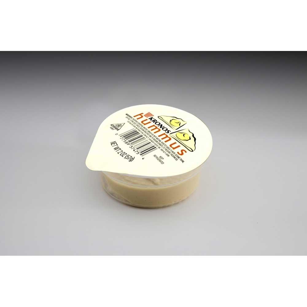 Krono Classic Hummus, 2 Ounce - 48 per case. by Krono