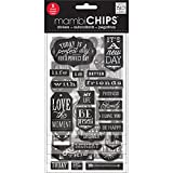 Arts & Crafts : me & my BIG ideas Mambi Chips It's a New Day Scrapbooking Supplies