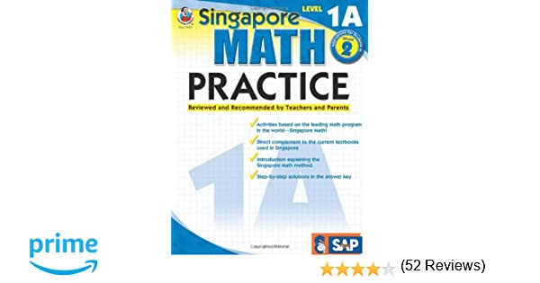 Amazon.com: Singapore Math Practice, Level 1A, Grade 2 ...