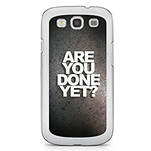 Loving Samsung Galaxy S3 Transparent Edge Case - Are you Done