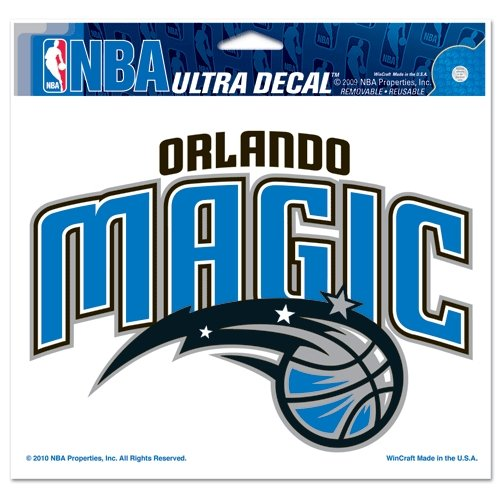 Orlando Magic Decal (NBA Orlando Magic Multi-Use Colored Decal, 5