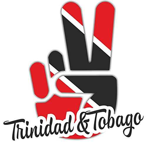 (INDIGOS UG Car Sticker/Sticker - Trinidad & Tobago - Victory - rear window, trunk, vehicle, tuning -)