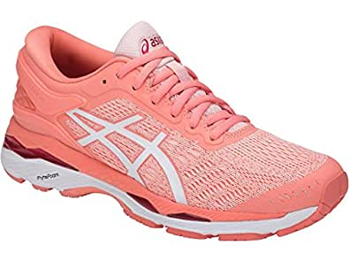 Asics Gel-Kayano 24 Womens Premium Cushioned Running Sport Shoes - Size: 9 US Or 25.75 cm - Color Seashell Pink