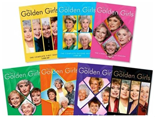 The GOLDEN GIRLS Seasons 1-7 Complete Series Collection Season 1 2 3 4 5 6 7 (Series Iii Dvd)
