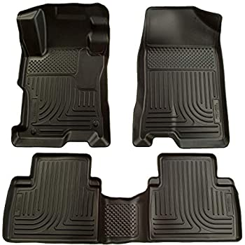 Image of Cargo Liners Husky Liners Fits 2004-09 Toyota Prius Weatherbeater Front & 2nd Seat Floor Mats