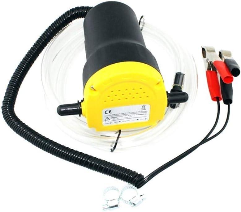 Cheniess Extractor Bomba Bomba de Aceite de Motor de Coche eléctrico 12V Auto Oil Fluid para La Industria Automotriz