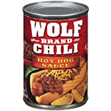 WOLF BRAND CHILI HOT DOG SAUCE 24ct