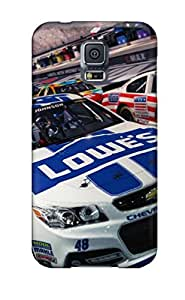 Perfect Fit NayGszM5134JtSPP Nascar 2014 Game Case For Galaxy - S5 by lolosakes
