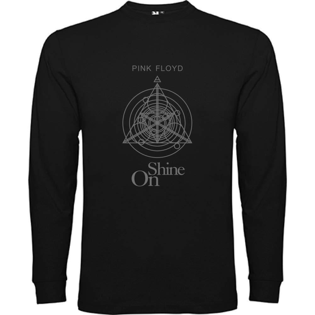 Bikerella T-Shirt Manica Lunga Unisex Pink Floyd Shine On by
