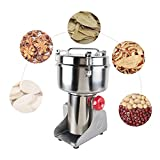 Enshey 1000g Stainless Steel Mill Grinder Pulverizer Machine 29000 r/min Chinese Herbal Spice Medicine Electric Milling Machine Grain Grinding Machine Sugar Peppe Soybean Coffee Mill Machine
