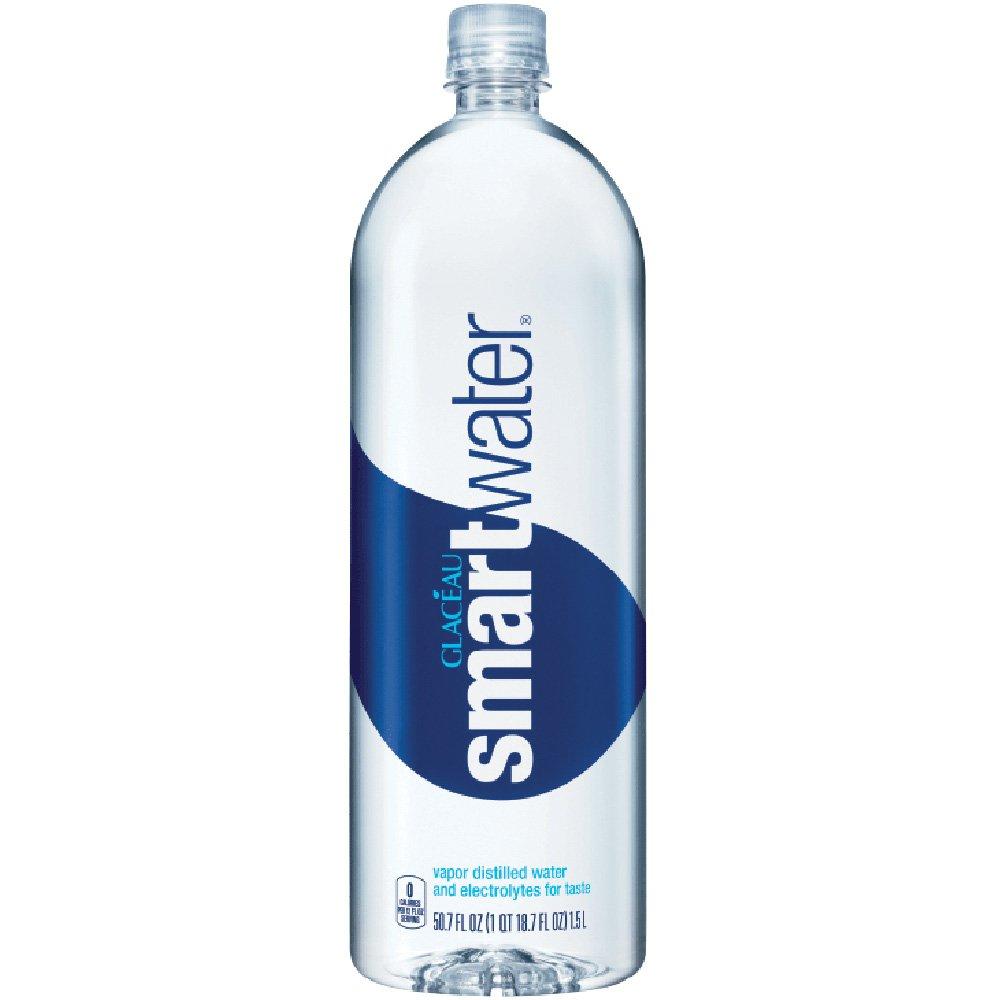 Glaceau Smartwater, 20 Oz. Bottles, Case Of 24
