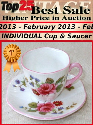 Top25 Best Sale - Higher Price in Auction - February 2013 - Individual Cup and Saucer (Top25 Best Sale Higher Price in Auction)