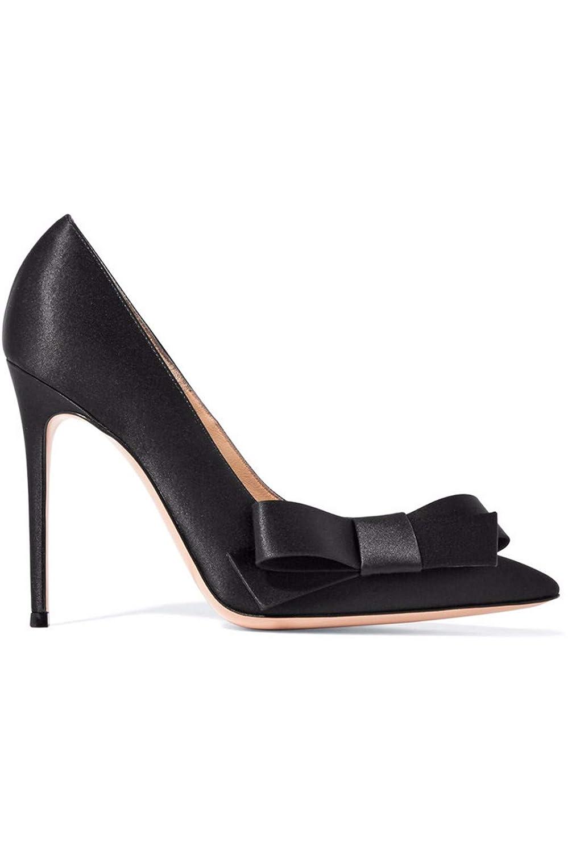 LBTSQ Damenschuhe Sommer Römische Schuhe Absatz 10 cm Hohen Dünnen Dünnen Dünnen Ferse Flachen Mund Bogen Sandalen b7815c