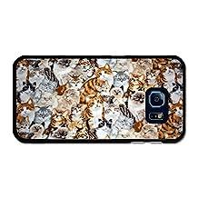 Cute Cat Pattern case for Samsung Galaxy S6 Edge