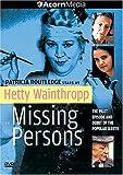 Hetty Wainthropp - Missing Persons