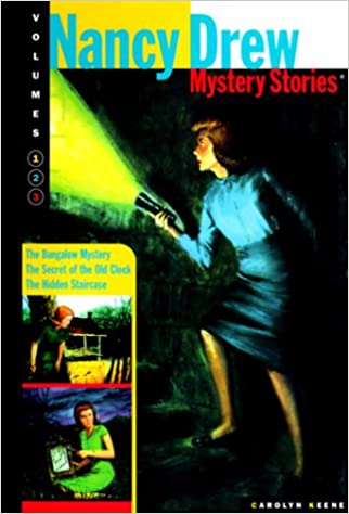 Nancy Drew Mysteries Stories: Secret Of The Old Clock / The Hidden Staircase  / The Bungalow Mystery: Carolyn Keene: 9780765117281: Amazon.com: Books