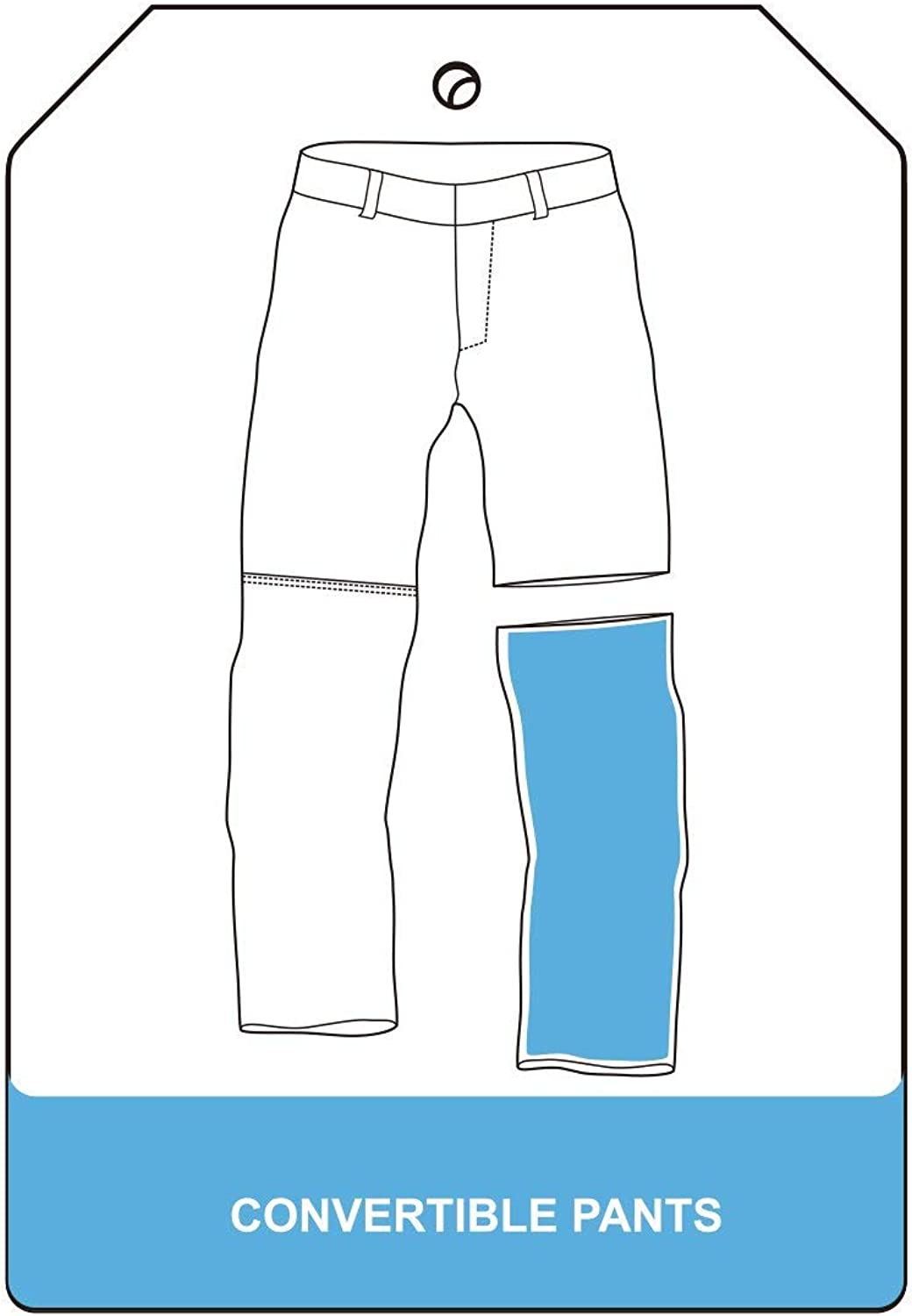 Little Donkey Andy Womens Stretch Convertible Pants Zip-Off Quick Dry Hiking Pants