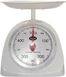 Balanzas de cocina mecánicas, básculas de cocina de 500 gramos de ...