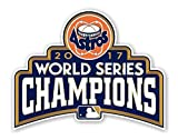 Houston Astros World Series 2017 Champions Wall Decal | 4 Size Vinyl Die Cut Bumper Poster | Houston Astros World Series 2017 Champions Emblem Patch (7' X 5.5')