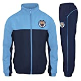 Manchester City FC Official Football Gift Boys Tracksuit Set 8-9 Years MB