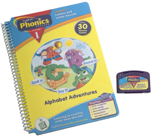 Leap Frog Phonics Book , Alphabet Adventures by LeapFrog (Image #1)