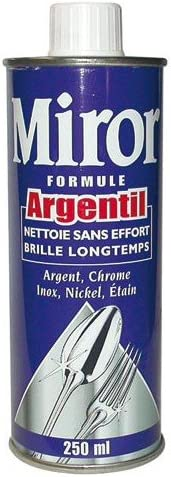 Miror Metallreiniger Formel Argentil 250 Ml Drogerie Körperpflege