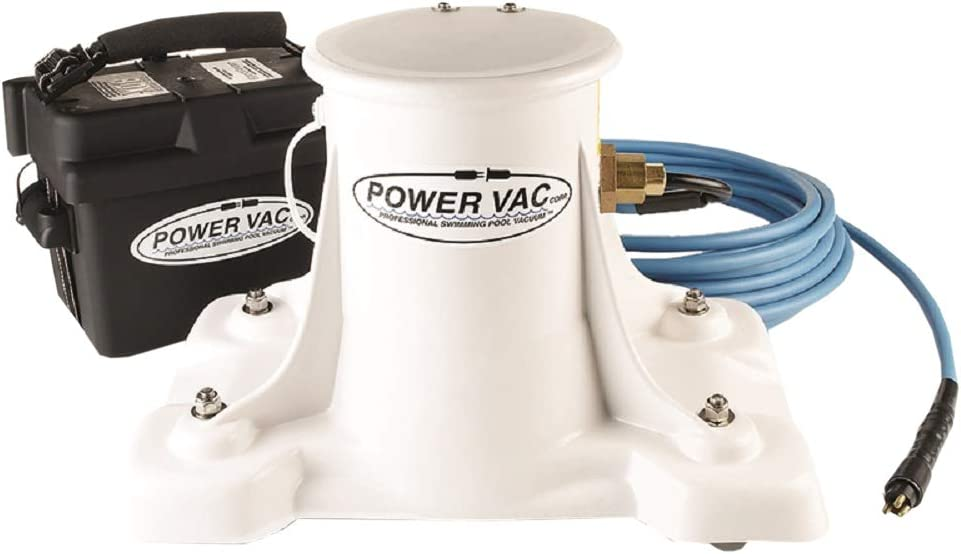 Power Vac Pv2100 Portable Professional Swimming Pool Vacuum Cleaner Garden Outdoor