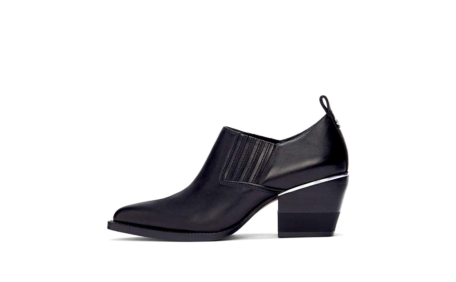DKNY Womens Roxy Shootie Leather Closed Toe Ankle Fashion Boots
