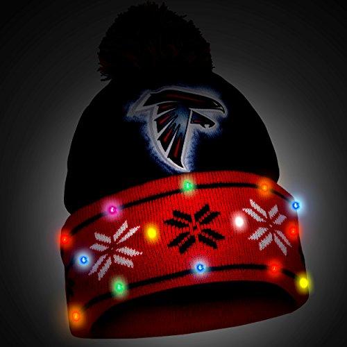 c4372383596b89 Atlanta Falcons Big Logo Light Up Beanie – Football Theme Hats