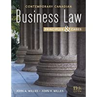 Contemporary Canadian Business Law