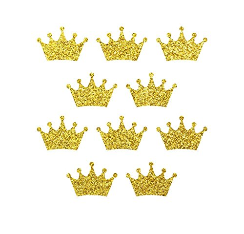 10pcs 3'' wide glitter crowns / iron on decal / heat transfe