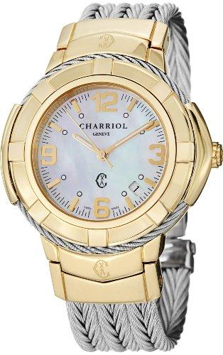 Charriol Women's CE438Y1650002 Celtic Analog Display Swiss Quartz Silver Watch