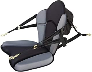 product image for GTS Expedition Molded Foam Kayak Seat - Standard Zipper Pack Comfortable Padded Kayak Canoe Boat Seat Fishing Seat Super Supportive Lumbar Support, Comfortable Kayak Adjustable Backrest