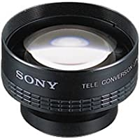 Sony VCL2030S Teleconverter Lens for DCR-DVD 92, 203, 403, 105, 205, 305, 405, 505 & DCR-PC1000 Camcorders