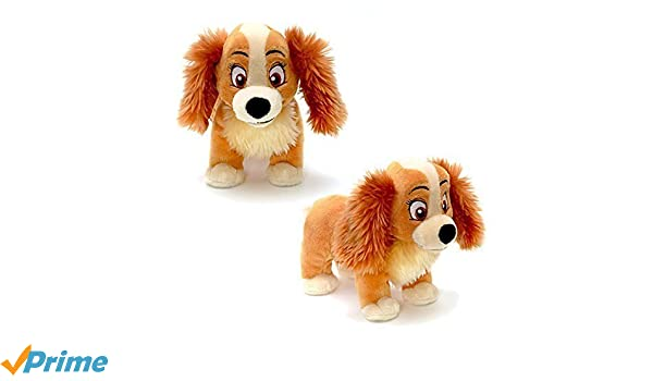 Official Disney Lady & The Tramp 20cm Señora suave peluche de juguete: Amazon.es: Juguetes y juegos