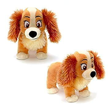 Official Disney Lady & The Tramp 20cm Señora suave peluche de juguete