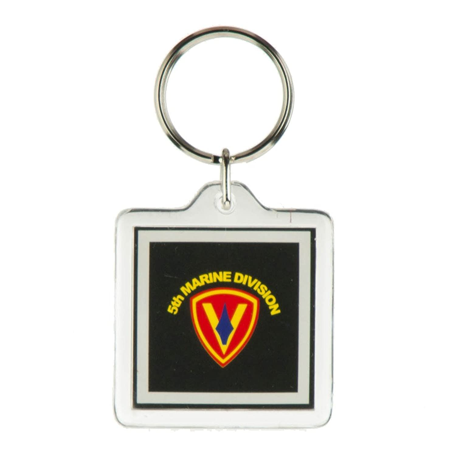 US Marine Corps Division Military Key Rings - 5th
